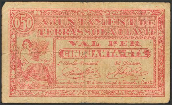 3019 - Billetes Guerra Civil