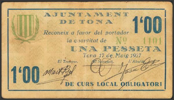 3021 - Billetes Guerra Civil