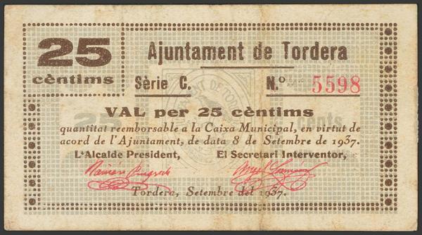 3023 - Billetes Guerra Civil
