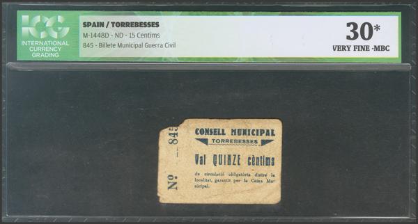 3024 - Billetes Guerra Civil