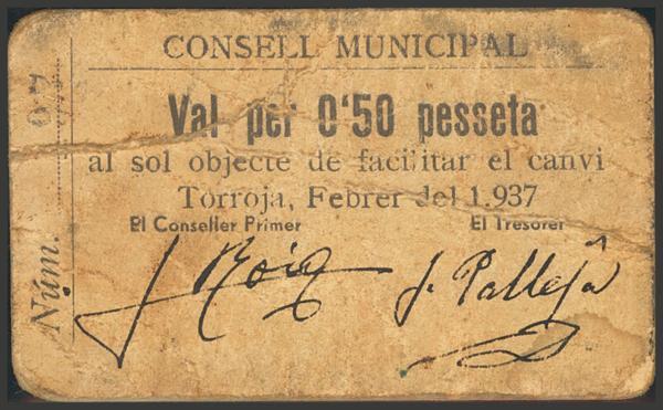3026 - Billetes Guerra Civil