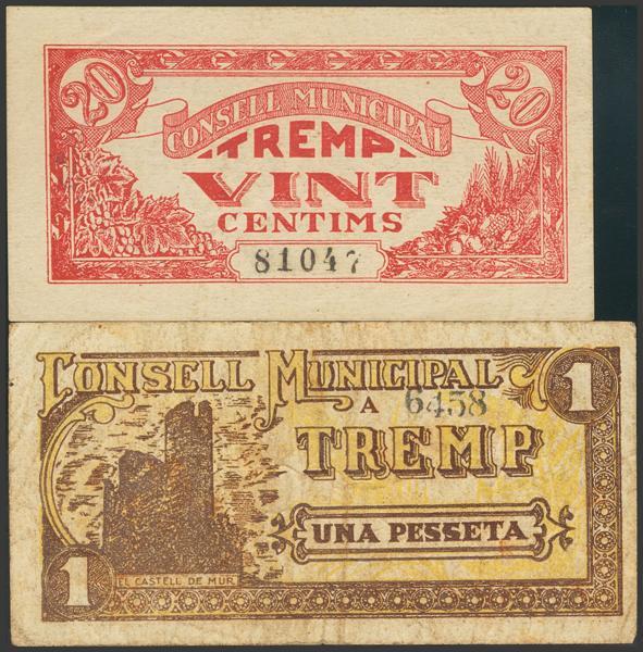 3029 - Billetes Guerra Civil