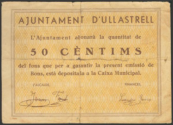 3030 - Billetes Guerra Civil