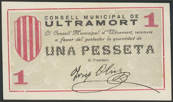 3031 - Billetes Guerra Civil