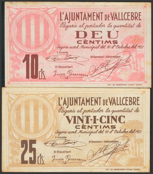 3033 - Billetes Guerra Civil