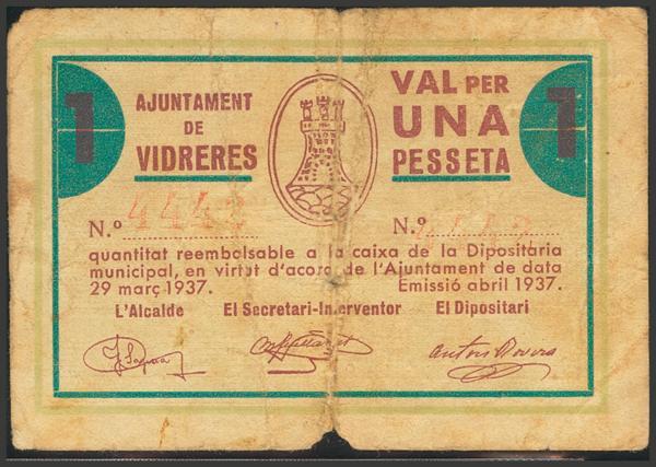 3038 - Billetes Guerra Civil