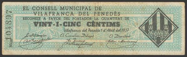 3040 - Billetes Guerra Civil