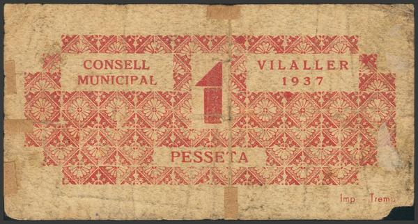 3041 - Billetes Guerra Civil