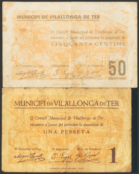 3042 - Billetes Guerra Civil