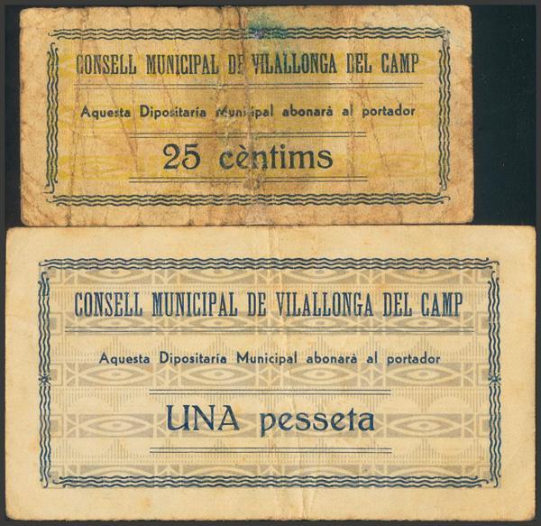 3043 - Billetes Guerra Civil