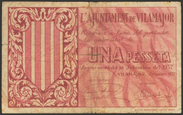 3045 - Billetes Guerra Civil