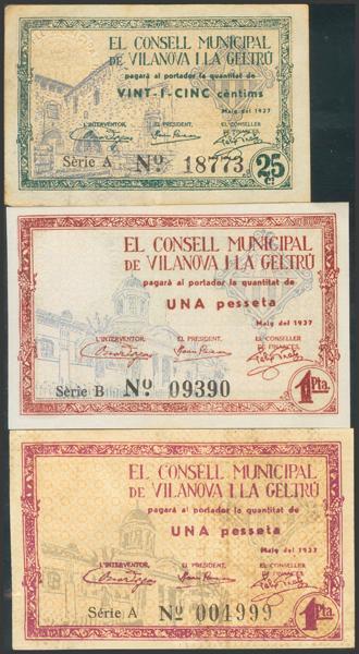 3049 - Billetes Guerra Civil