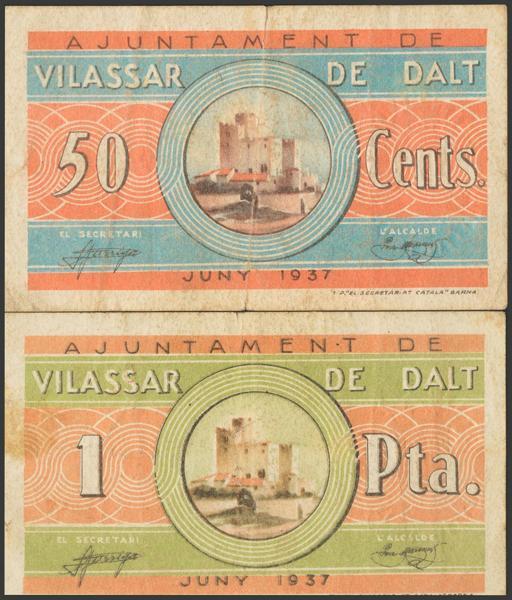 3052 - Billetes Guerra Civil