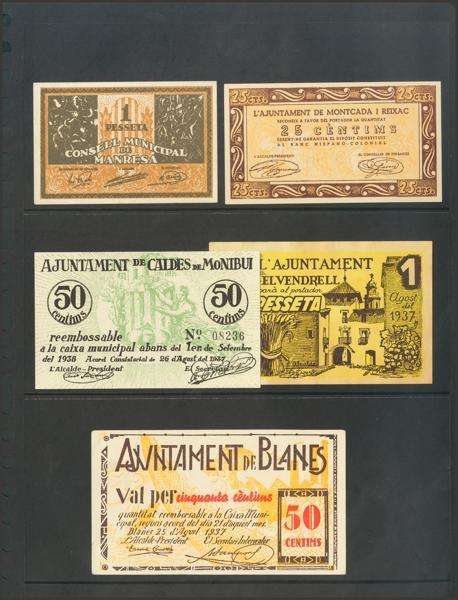 3062 - Billetes Guerra Civil