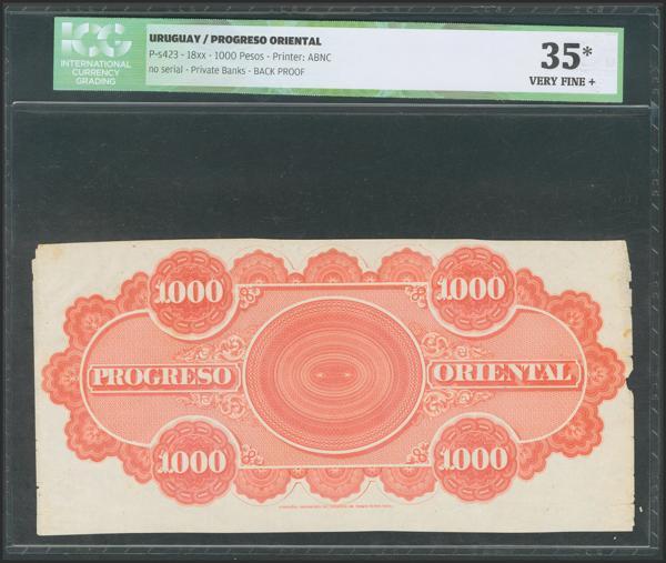 1427 - Billetes Extranjeros