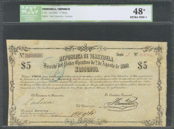 1436 - Billetes Extranjeros