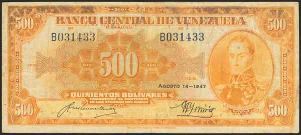 1443 - Billetes Extranjeros