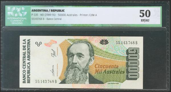 50 - Billetes Extranjeros