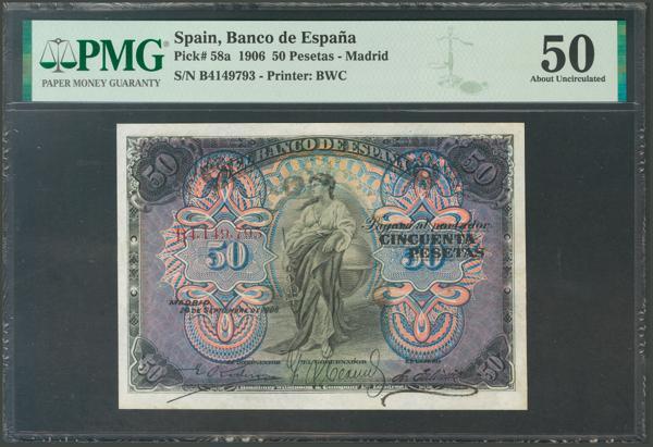 2018 - Billetes Españoles