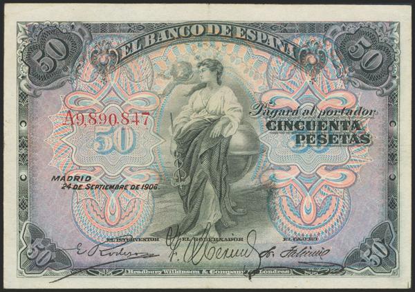 2019 - Billetes Españoles