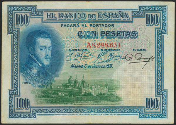 2025 - Billetes Españoles