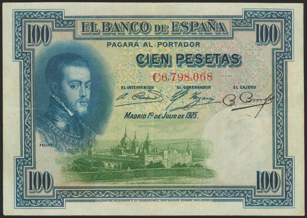 2027 - Billetes Españoles