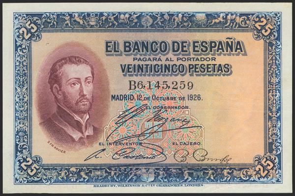 2032 - Billetes Españoles