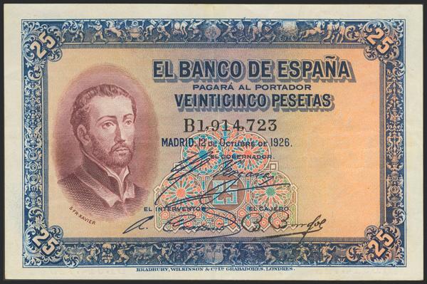 2033 - Billetes Españoles