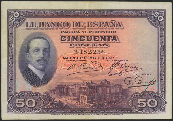 2035 - Billetes Españoles