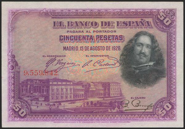 2037 - Billetes Españoles