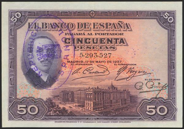 2038 - Billetes Españoles