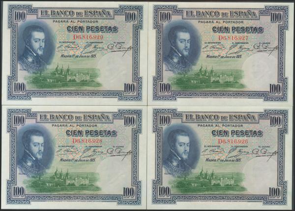 2043 - Billetes Españoles