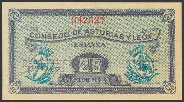 2152 - Billetes Españoles