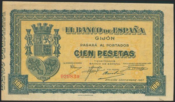 2158 - Billetes Españoles