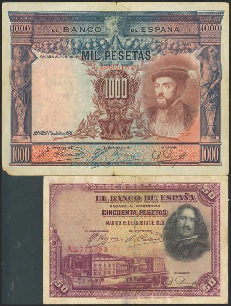 2160 - Billetes Españoles