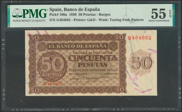 2167 - Billetes Españoles