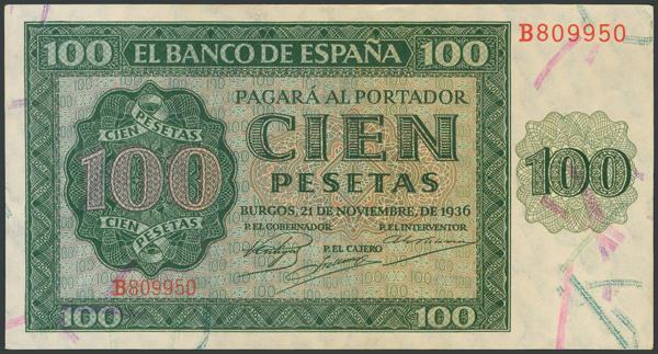 2169 - Billetes Españoles