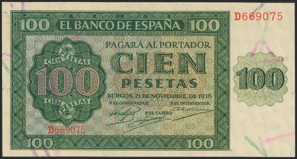 2170 - Billetes Españoles