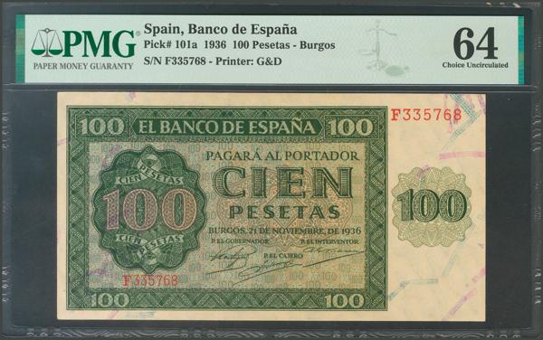 2173 - Billetes Españoles