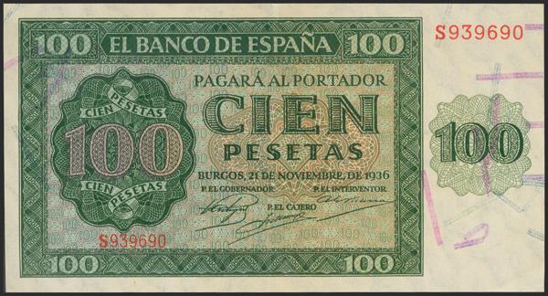 2174 - Billetes Españoles
