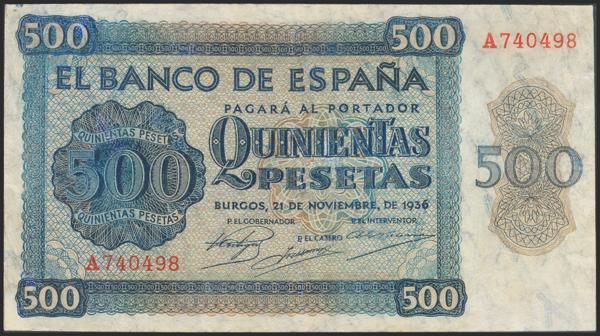 2177 - Billetes Españoles