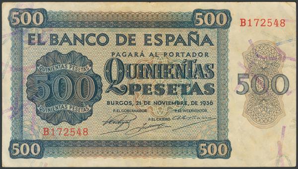 2179 - Billetes Españoles