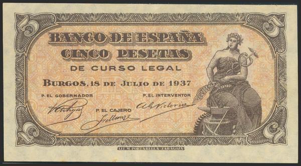 2180 - Billetes Españoles