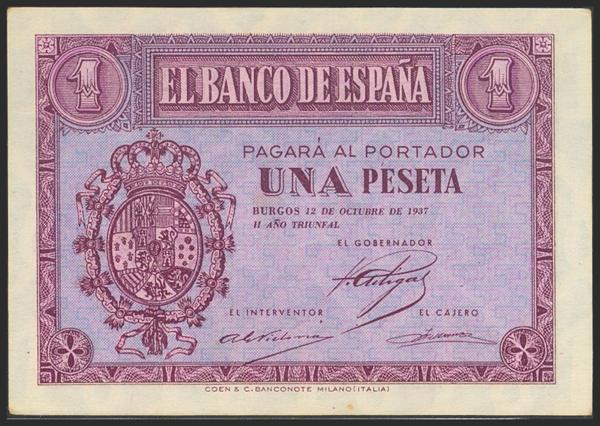 2181 - Billetes Españoles