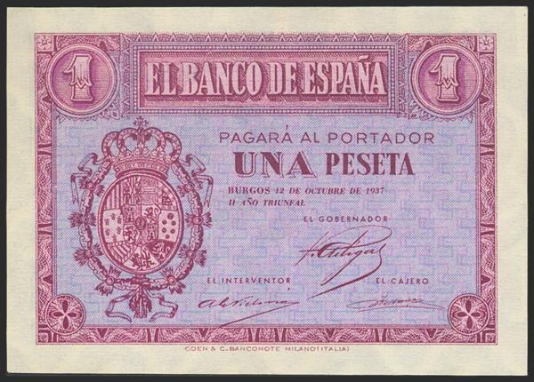 2182 - Billetes Españoles