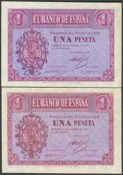 2183 - Billetes Españoles