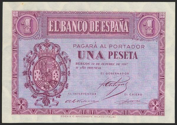 2184 - Billetes Españoles