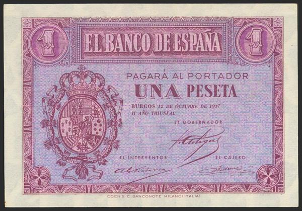 2187 - Billetes Españoles