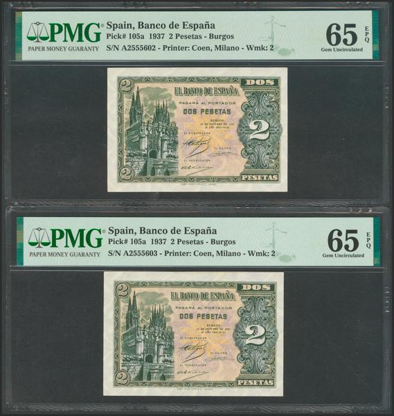 2189 - Billetes Españoles