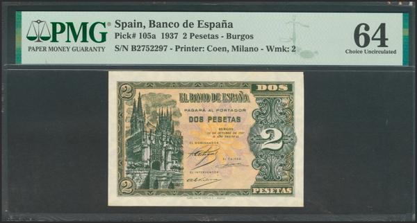 2190 - Billetes Españoles